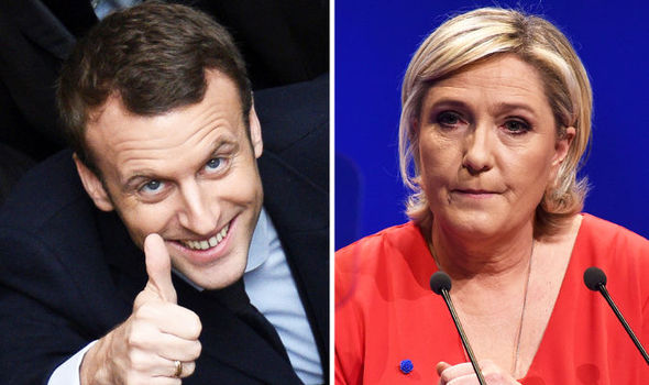 Macron and Le Pen Neck to Neck in Polls