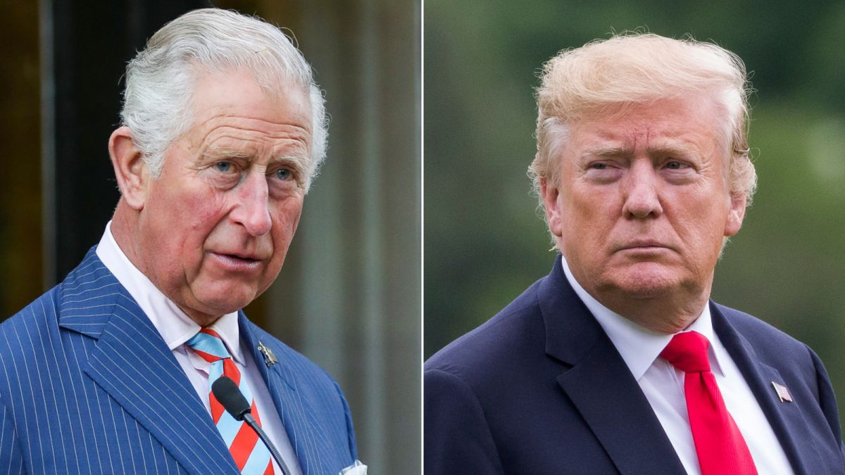 On UK state visit Donald Trump will meet Price Charles for tea