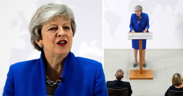New Brexit Deal By May